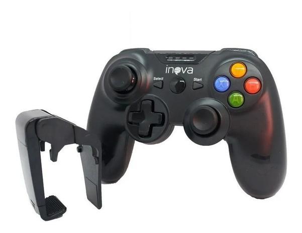 Controle Joystick Gamepad sem Fio p/ Celular Inova CON-8417