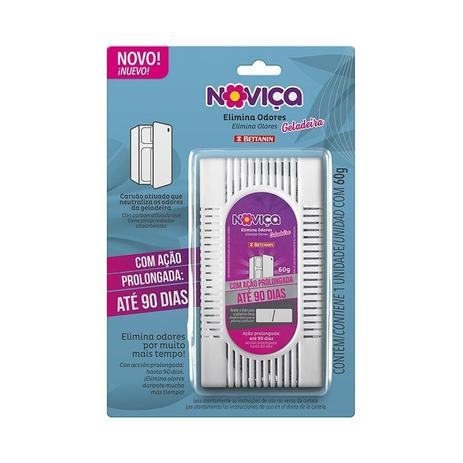 Elimina Odor Geladeira Plástico Noviça - Bettanin