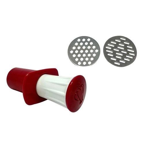 Espremedor de Alho Plástico Manual com 2 Lâminas Pratico. - Unyhome