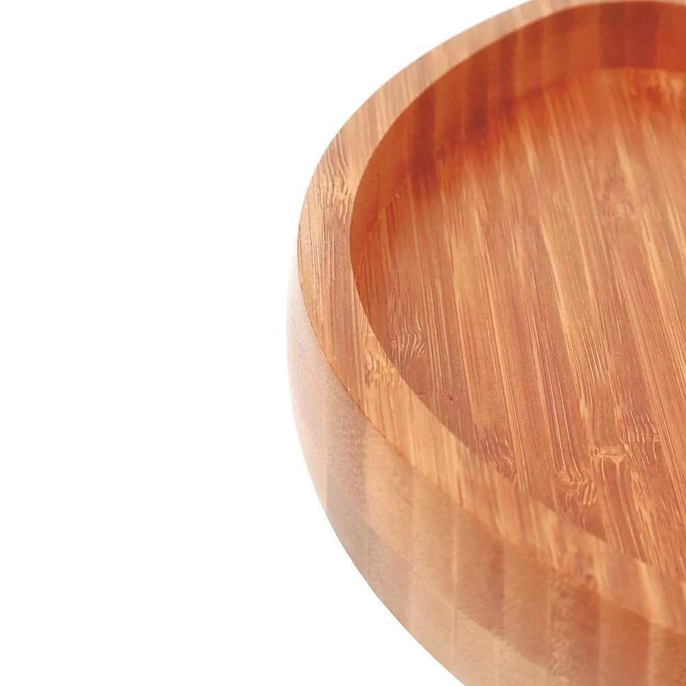 Gamela com 2 divisorias bamboo - Mor