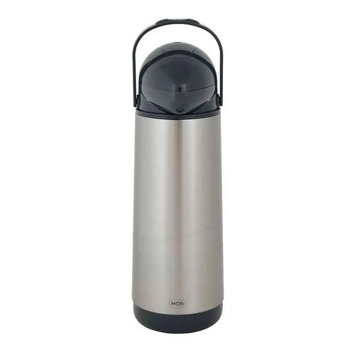 Garrafa Térmica De Pressão Nobile Inox 1,9 Litros Mor