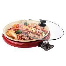Multi Grill Ceramic Pan Cadence 350 220 V 35 cm