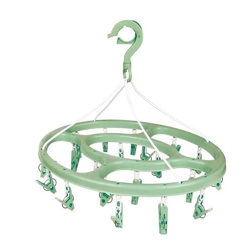 Mini-varal Oval 24 Prendedores - MOR