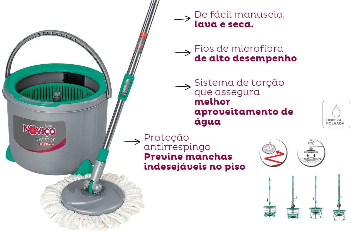 NOVICA MOP TWISTER PLAST 7L 1X1.
