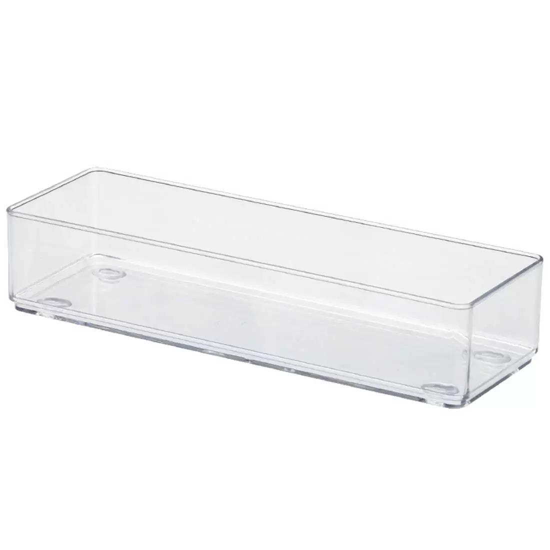 Organizador de gavetas Cristal 800mls base antiderrapante - Arthi