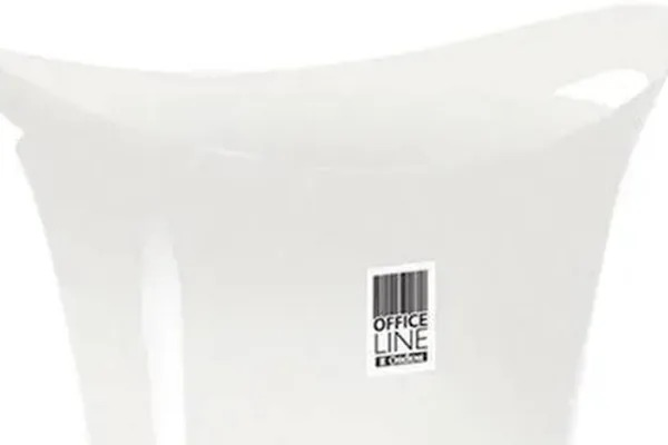 Papeleiro Plástico Branco  8,8 Litros Ordene