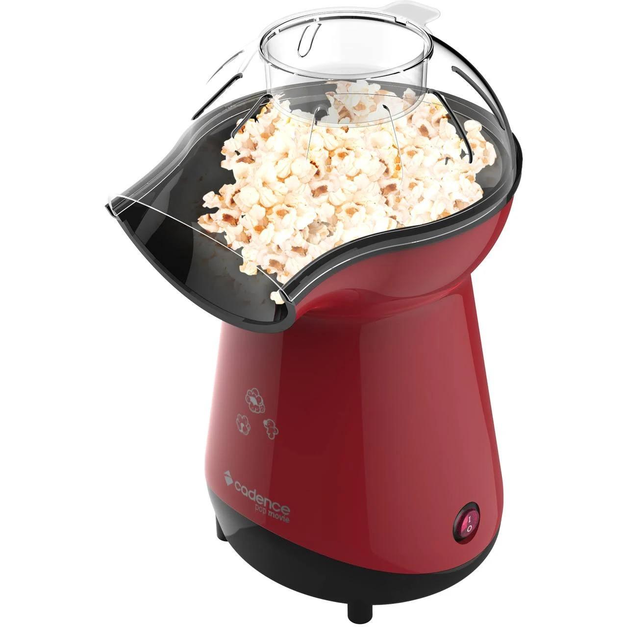 Pipoqueira  Elétrica Pop Movie 205 Cadende 220V Cor: Vermelho