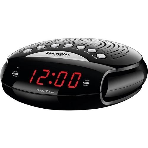 RADIO RELOGIO RR 03 BIVOLT SLEEP STAR III