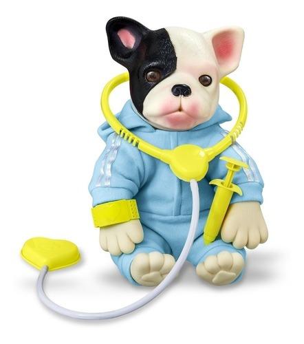 Bebe Pet Bulldog Filhotinho Hora Do Veterinário - Roma 5844
