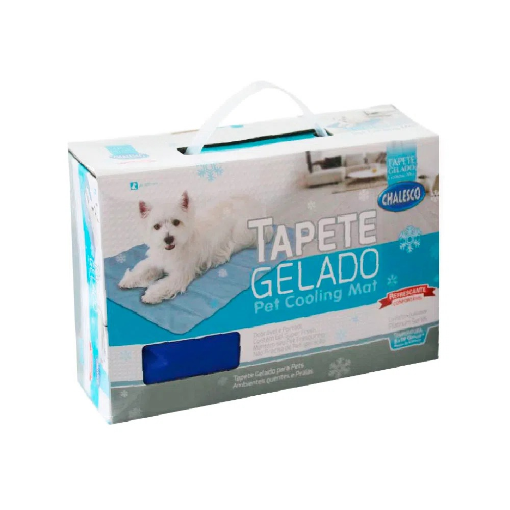 TAPETE GELADO CHALESCO M 50 CM X 64 CM