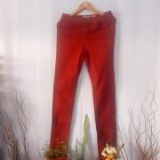 Calça Jeans Bordeaux Tamanho 40
