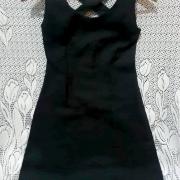 Vestido Preto de Alça Cruzada Tamanho P Super Elegante