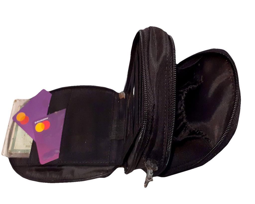 Bolsa Shoulderbag Preta Compacta Alça Longa Linda