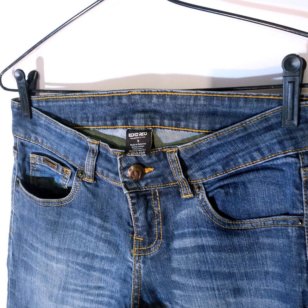 Calça Jeans Feminina P Ecko Red Linda e em Perfeito Estado