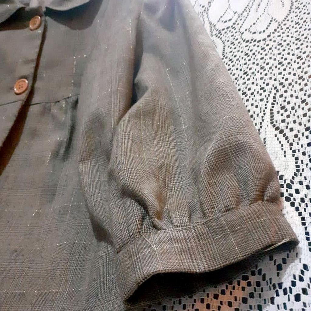 Casaco Feminino Vintage de Inverno Tam G  Clássico