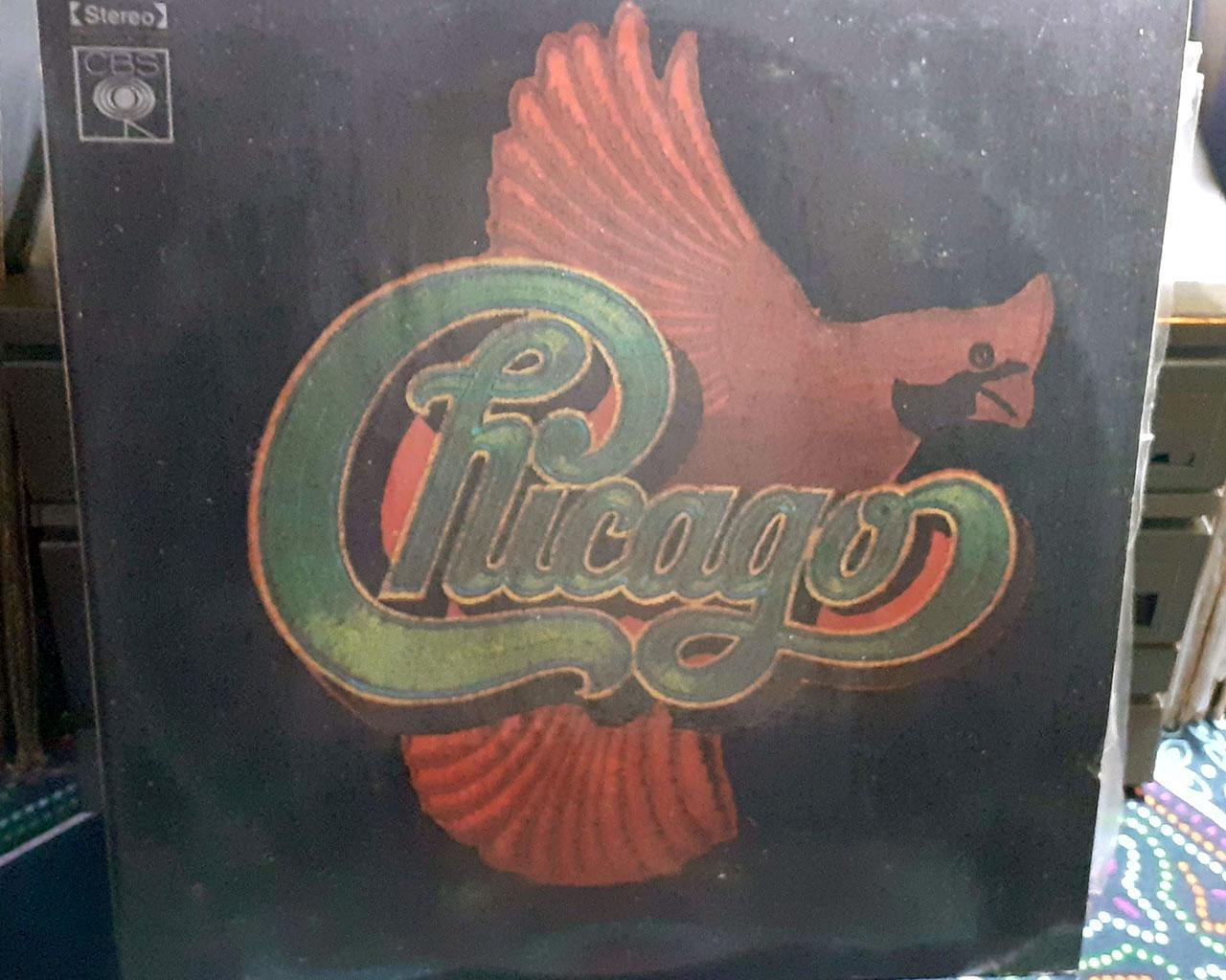 Coleção com 4 LPs da banda Chicago - Rock and Roll Anos 70