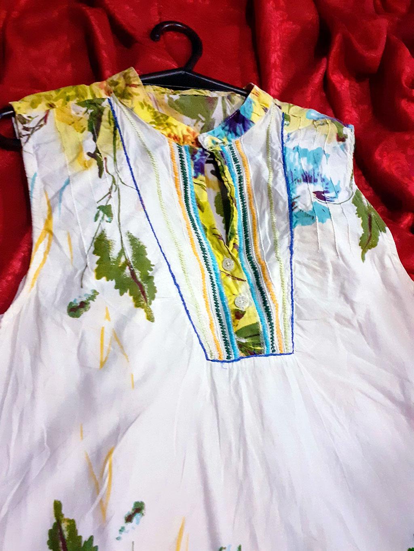 Lindo Vestido Florido Tamanho M Super Tendência