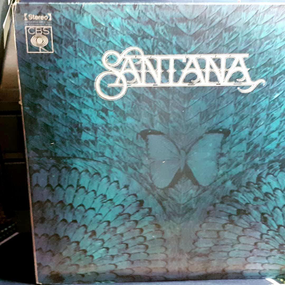 LP Santana Borboletta 1974 Ótimo Estado de Conservação Raro