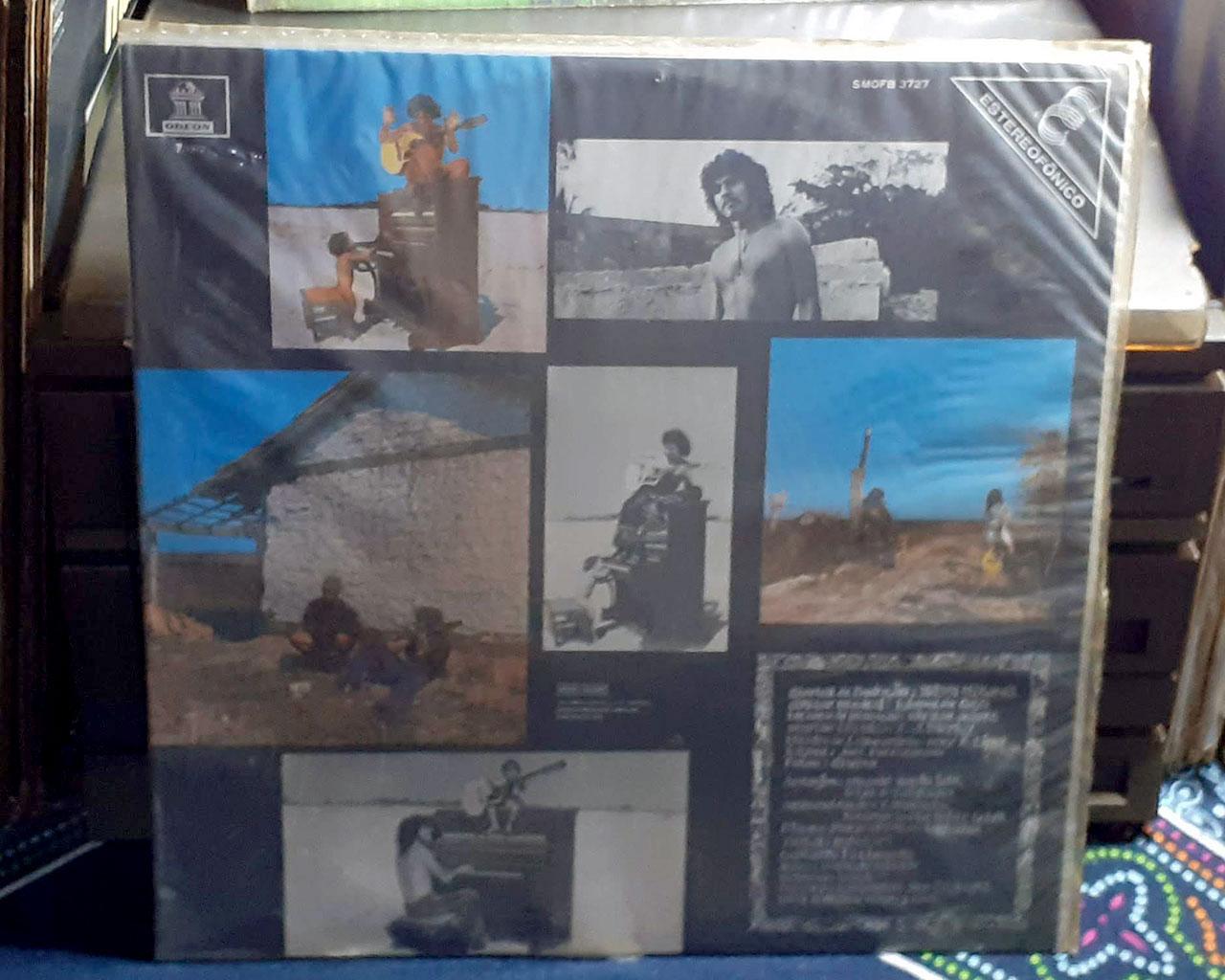 LP Taiguara, Voz e Violão 1974 Nacional Original Bom Estado