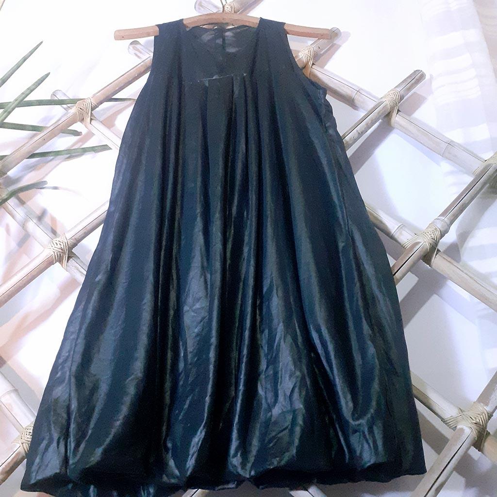Vestido Preto Balonet Tamanho M