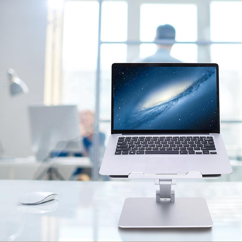 Suporte de mesa ergonômico para tablet/notebook em alumínio e ajustável Suporte Mania