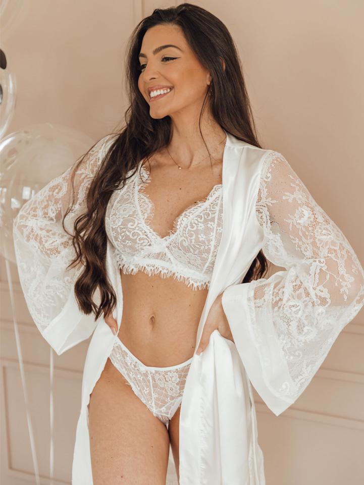Calcinha Glamour Off White