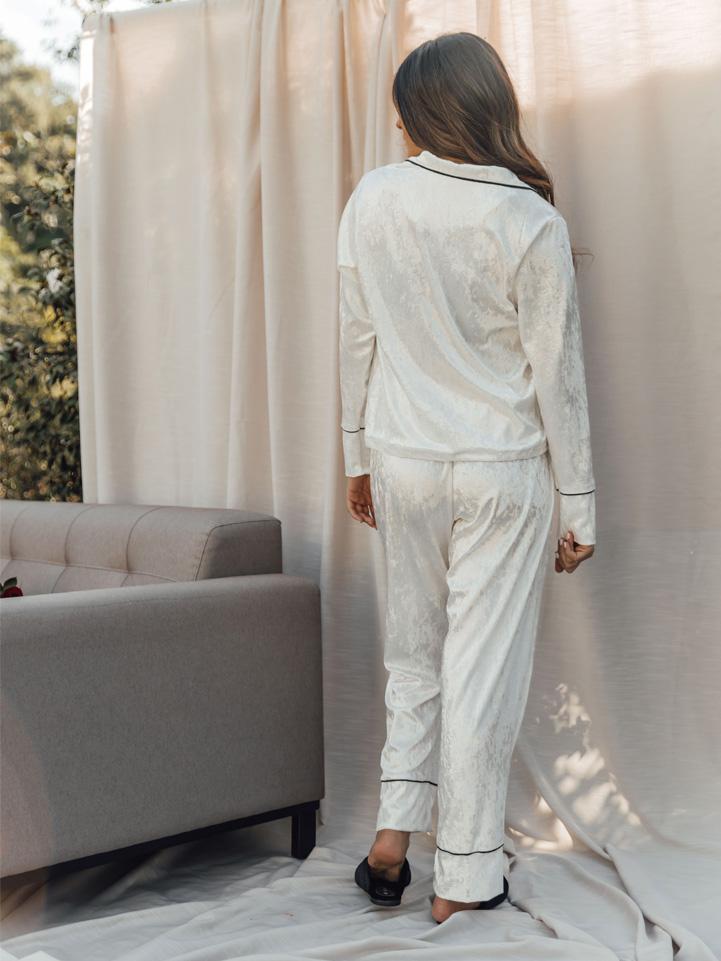 Conjunto Pijama Branco