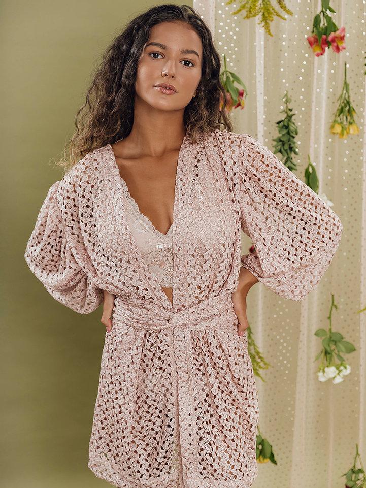 Kimono Admiração Rosé