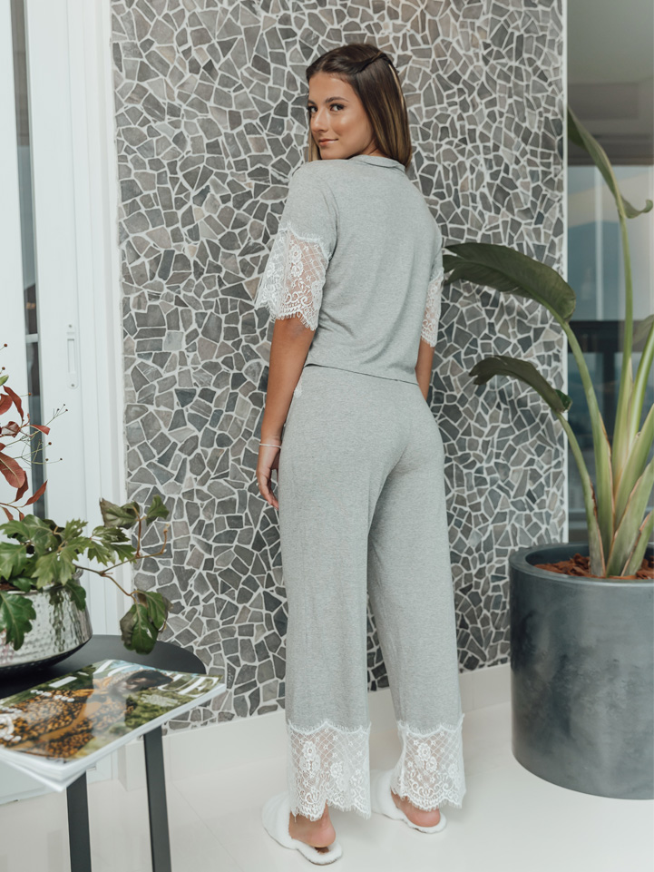 Pijama Alecrim Mescla