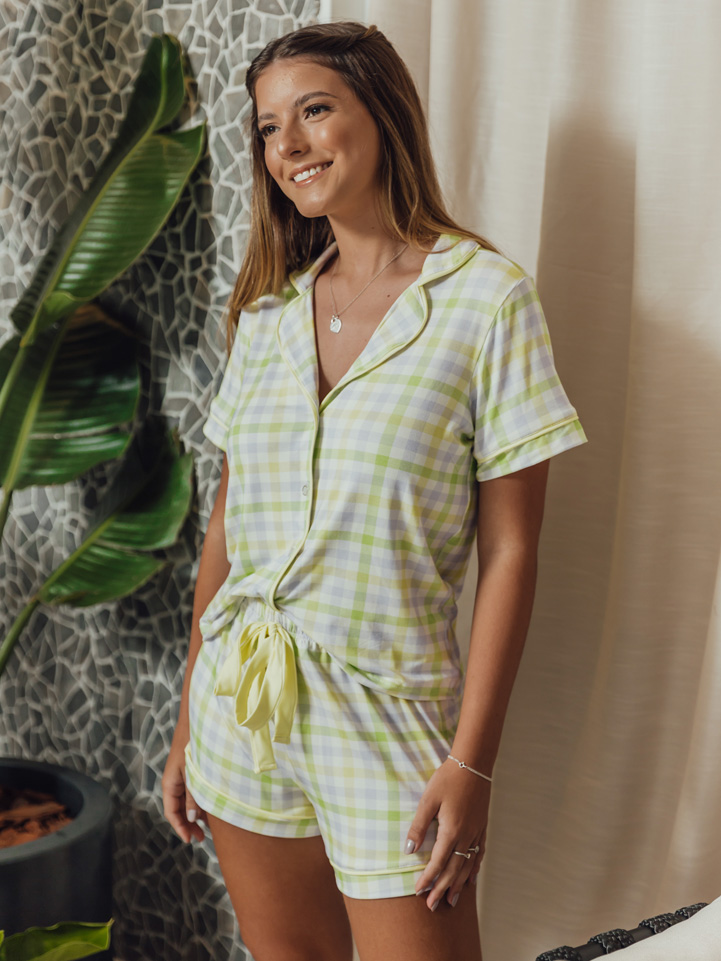 Pijama Siciliano Vichy