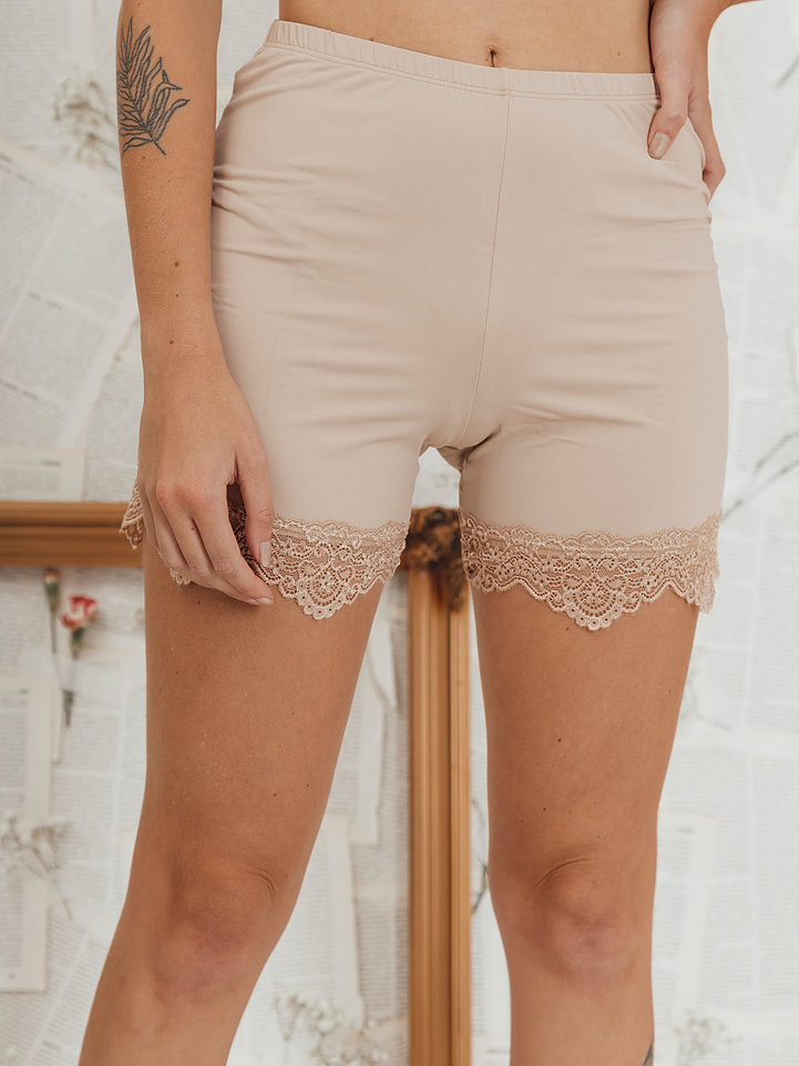 Shorts Anágua Lisa Nude