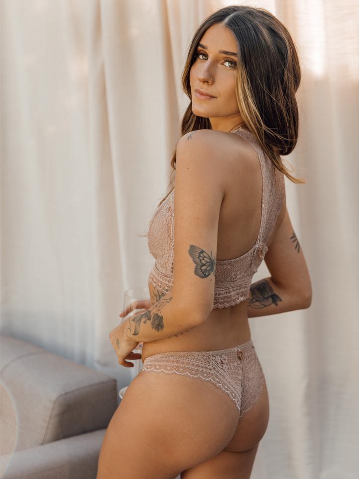 Top Nude Pérola