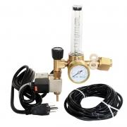 Válvula Solenoide Reguladora de CO2 para Cilindros (Padrão CGA320 - 3/4