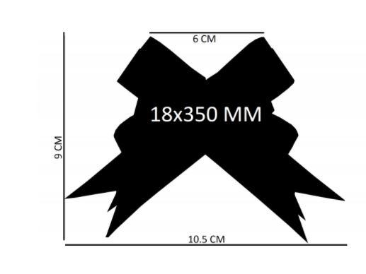 Laço fácil glitter puro (pacote com 10 un.) 18x350mm 1013