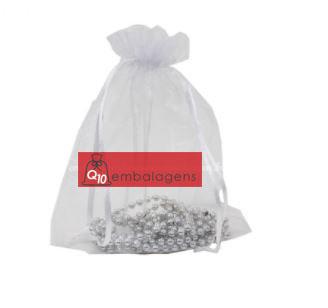 Organzas (pacote com 10 un- Branco)