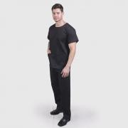 Pijama Cirúrgico Preto - Unissex