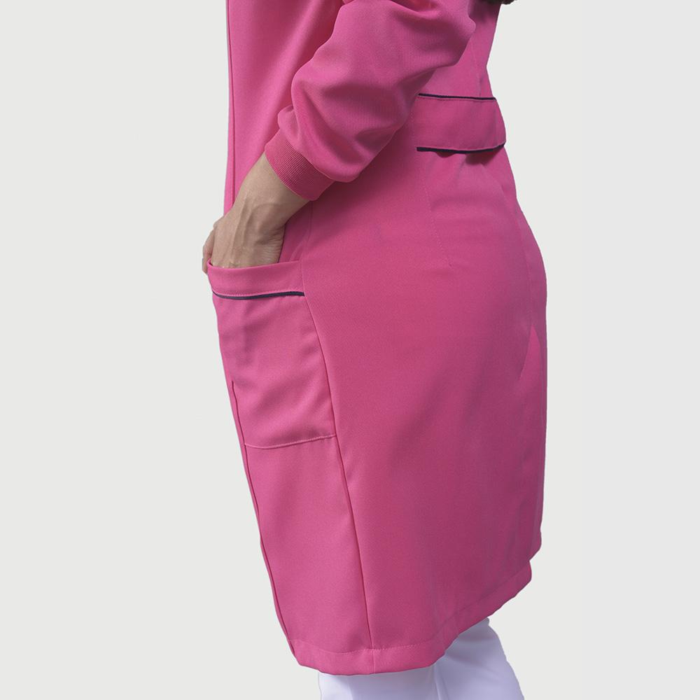 Jaleco Luiza Manga Longa - Pink