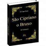 Livro de São Cipriano o Bruxo -  Capa Preta