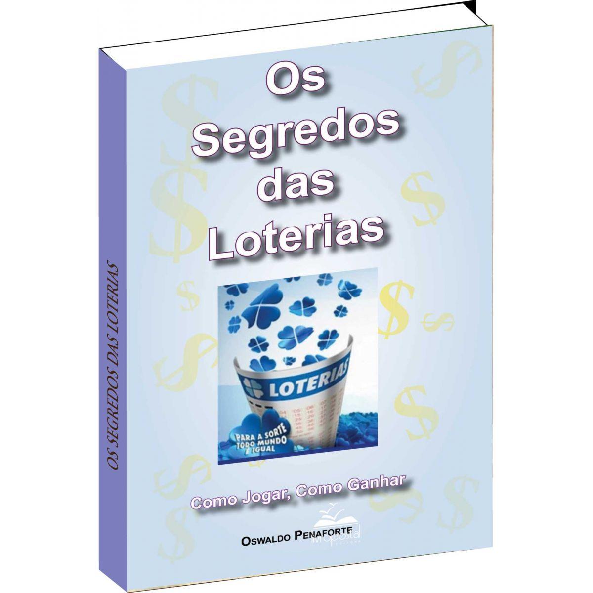 Brinde na compra de 2 livros - Os segredos das loterias  - Livropostal Editora