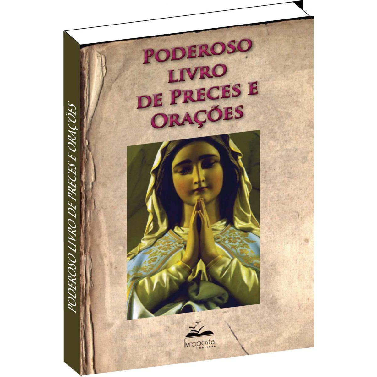 Brinde na compra de 2 livros - Poderoso livro de preces e orações  - Livropostal Editora