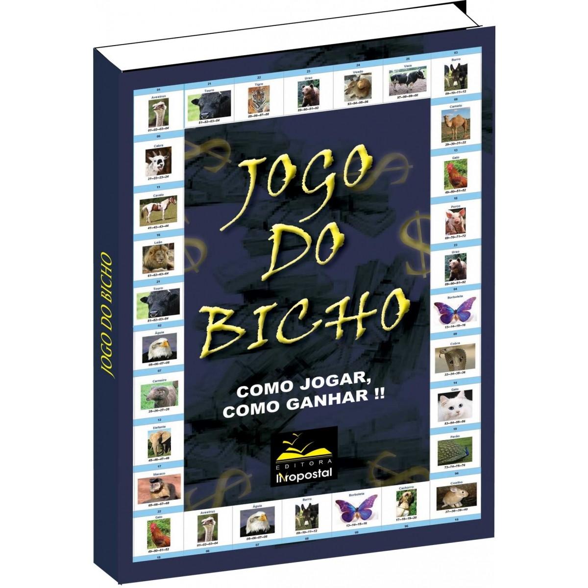 Ebook do Livro do Jogo do Bicho  - Livropostal Editora