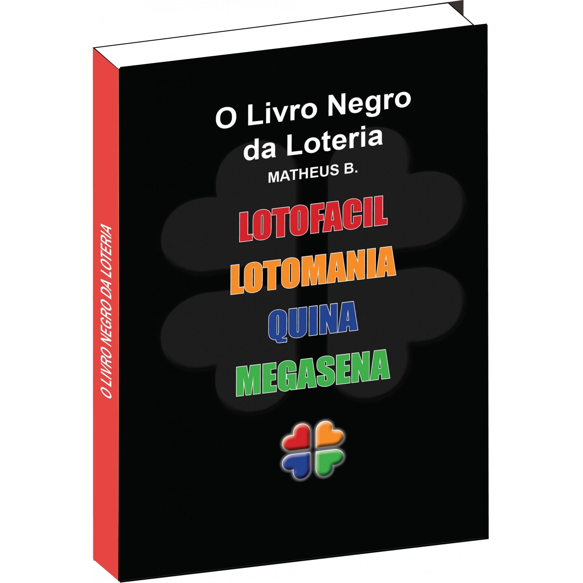 O Livro Negro Da Loteria - Combo com 5 Livros em 1  - Livropostal Editora