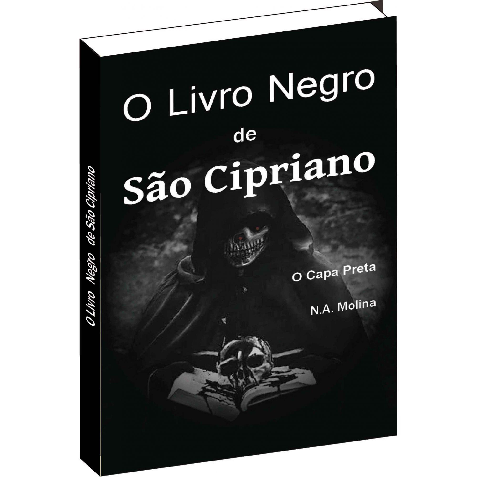 O Livro Negro De São Cipriano  - Livropostal Editora