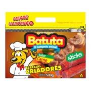 BATUTA STICKS SABOR CARNE 500 G
