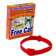 COLEIRA COMBATE ÀS PULGAS COM AROMA TUTTI FRUTTI FREE CAT