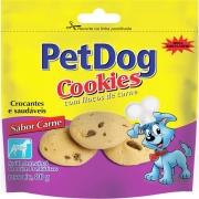 PET DOG COOKIES CARNE 80G