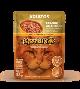 SPECIAL CAT ADULTOS FRANGO AO MOLHO 85G