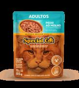 SPECIAL CAT ADULTOS PEIXE AO MOLHO 85G