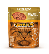 SPECIAL CAT CASTRADOS FRANGO AO MOLHO 85G