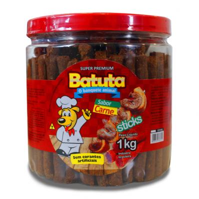 BATUTA STICKS SABOR CARNE 1KG